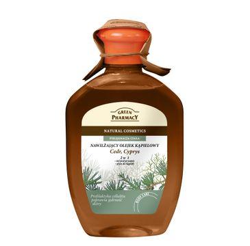 Green Pharmacy olejek kąpielowy Cedr Cyprys 250 ml