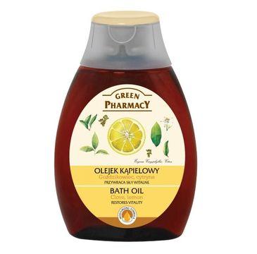 Green Pharmacy olejek kąpielowy goździkowiec cytryna 250 ml
