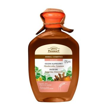 Green Pharmacy olejek kąpielowy mandarynka cynamon 250 ml