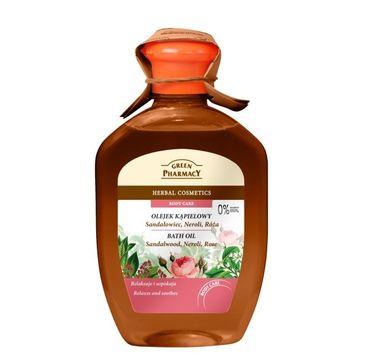 Green Pharmacy olejek kąpielowy sandałowiec neroli róża 250 ml