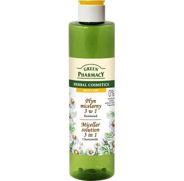 Green Pharmacy Płyn micelarny do twarzy 3w1 z ekstraktem z rumianku 250 ml