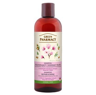 Green Pharmacy – Regenerujący szampon do włosów Magnolia i Argan (500 ml)