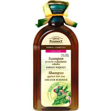 Green Pharmacy szampon do każdego rodzaju włosów przeciw wypadaniu Łopian Większy (350 ml)