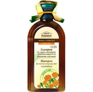 Green Pharmacy szampon do włosów normalnych i przetłuszczających nagietek 350 ml