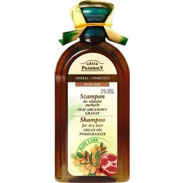 Green Pharmacy szampon do włosów suchych olejek arganowy granat 350 ml