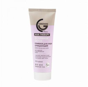 Greenini AHA Therapy Gommage Detox peeling do twarzy (75 ml)