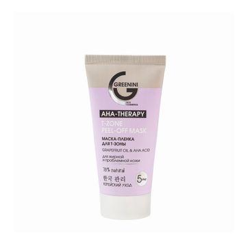Greenini AHA Therapy T-Zone Peel-Off Mask maska do strefy T (50 ml)