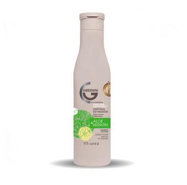 Greenini – Aloe & Keratin Conditioner odbudowująca odżywka do włosów Aloes & Keratyna (250 ml)