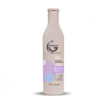 Greenini Black Rice Shampoo intensywnie nawilżający szampon do włosów Czarny Ryż (500 ml)