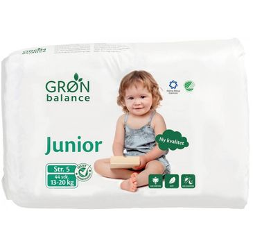 Gron Balance – Pieluchy dla dzieci Junior 13-20kg (44 szt).