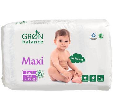 Gron Balance – Pieluchy dla dzieci Maxi 7-14kg (50 szt.)