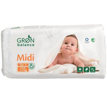 Gron Balance – Pieluchy dla dzieci Midi 5-9kg (56 szt.)
