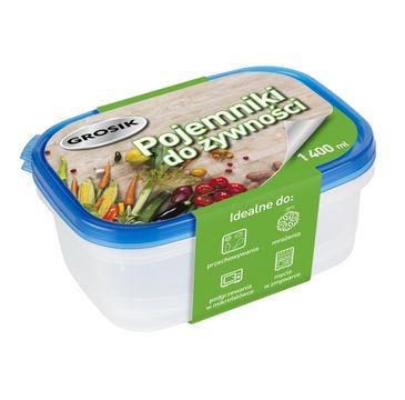 Grosik Pojemniki na żywność 1400ml  2szt