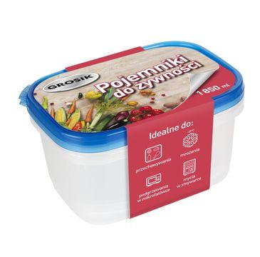 Grosik Pojemniki na żywność 1850ml  2szt