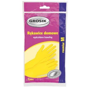 Grosik rękawiczki domowe 1 op. rozmiar M