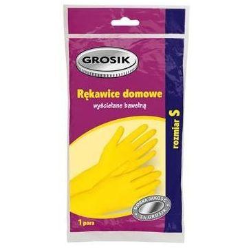 Grosik rękawiczki domowe 1 op. rozmiar S