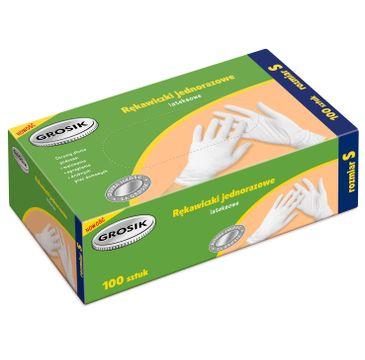 Grosik rękawiczki lateksowe S /100 szt.