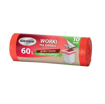 Grosik Worki na śmieci LD 60L/10szt