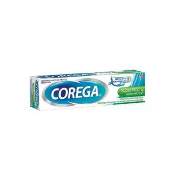 Corega – Super Mocny Delikatnie Miętowy Krem mocujący do protez zębowych (40 g)