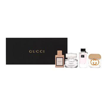 Gucci Zestaw Bamboo woda perfumowana 5ml + Gorgeous Gardenia woda toaletowa  5ml + Guilty woda toaletowa 5ml + Bloom woda perfumowana 5ml (1 szt.)