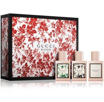 Gucci – Zestaw Bloom woda perfumowana spray 30ml + Acqua Di Fiori woda toaletowa spray 30ml + Nettare Di Fiori woda perfumowana spray 30ml (1 szt.)