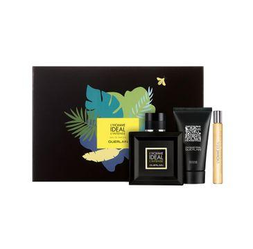 Guerlain – L'Homme Ideal L'Intense zestaw woda perfumowana spray 100ml + miniatura wody perfumowanej10ml + żel pod prysznic 75ml (1 szt.)