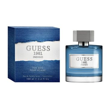 Guess – 1981 Indigo For Men woda toaletowa spray (100 ml)