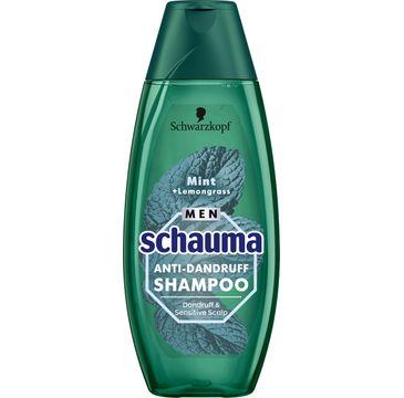 Schauma – szampon Mięta+Trawa cytrynowa dla mężczyzn (400 ml)