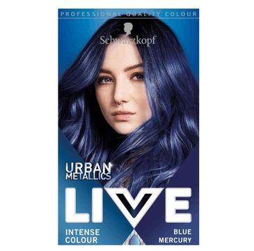 Schwarzkopf – Live Urban Metallics Blue Mercury U67 farba trwała do włosów SK LIVE Farba do włosów (1 szt.)