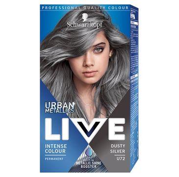 Live Urban – Metallics Dusty Silver U72 trwała farba do włosów (1 szt.)