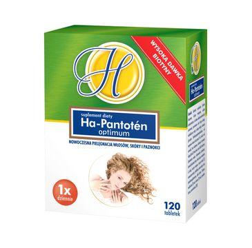 Ha-Pantoten Optimum włosy skóra i paznokcie suplement diety (120 tabletek)