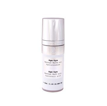 Hagina Age-Bye Massage Mask maska do twarzy z kwasem hialuronowym (50 ml)