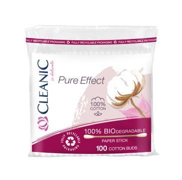 Cleanic Pure Patyczki higieniczne w folii (100 szt.)