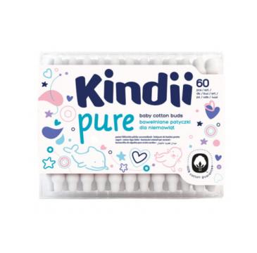 Kindii Pure patyczki dla niemowląt (60 szt.)
