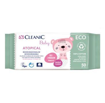 Cleanic Baby ECO Atopical chusteczki dla niemowląt i dzieci (50 szt.)
