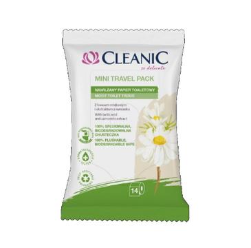 Cleanic – Papier nawilżany Mini(14 szt.)