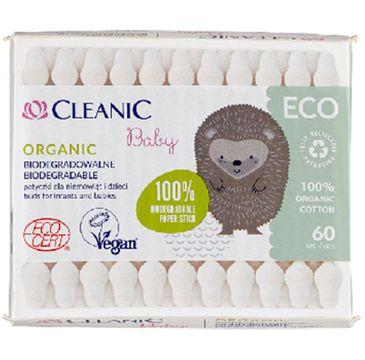 Cleanic – Patyczki dziecięce ECO Baby (60 szt.)