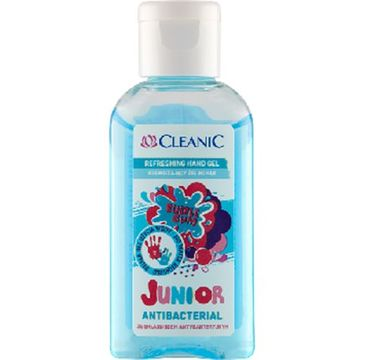 Cleanic – Junior odświeżający żel do rąk (50 ml)