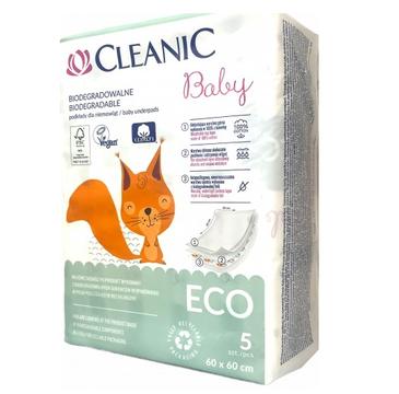 Cleanic Baby Organic Podkłady jednorazowe dla niemowląt (5 szt.)