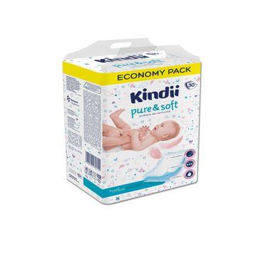 Kindii Pure&Soft Podkłady jednorazowe dla niemowląt (30 szt.)
