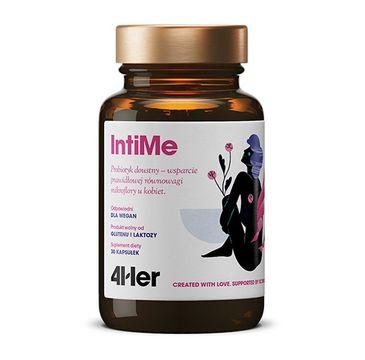 HealthLabs – 4HER IntiMe probiotyk doustny wsparcie prawidłowej równowagi mikroflory u kobiet suplement diety (30 kapsułek)