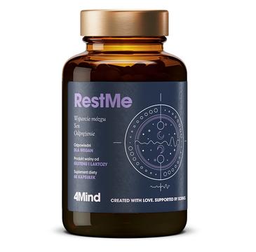HealthLabs – 4MIND RestMe ukojenie nerwów i spokojny sen suplement diety (60 kapsułek)