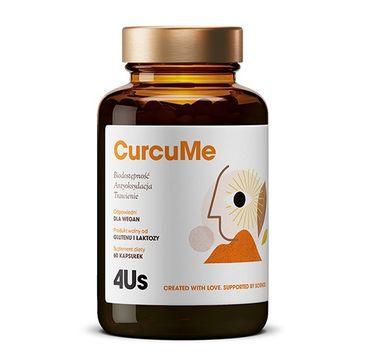 HealthLabs – 4US CurcuMe poprawa trawienia i antyoksydacja suplement diety (60 kapsułek)