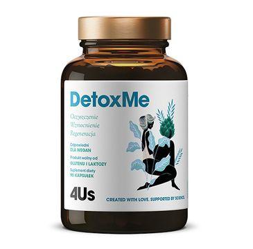 HealthLabs – 4US DetoxMe oczyszczenie wzmocnienie i regeneracja suplement diety (90 kapsułek)