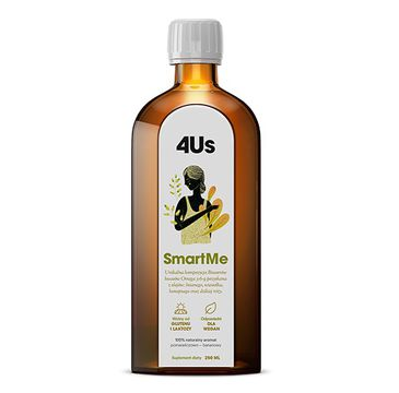 HealthLabs 4US SmartMe bioestry kwasów omega 3-6-9 suplement diety (250 ml)