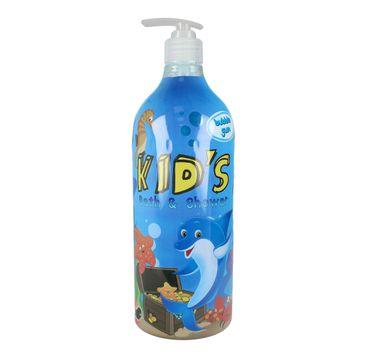 Hegron Kid's płyn do kąpieli i żel pod prysznic 2w1 Bubble Gum 1000 ml