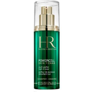 Helena Rubinstein Powercell Skin Rehab Night D-Toxer Concentrate oczyszczający koncentrat do twarzy na noc 30ml