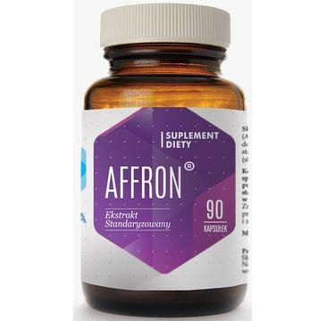 Hepatica Affron wyciąg z szafranu suplement diety 90 kapsułek