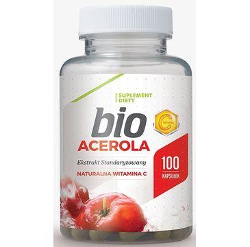 Hepatica Bio Acerola suplement diety 100 kapsułek