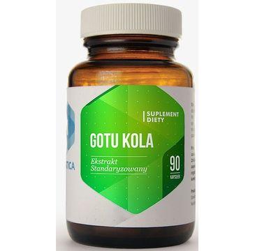 Hepatica Gotu Kola suplement diety 90 kapsułek